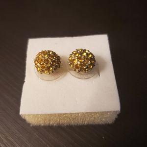Stella & Dot Gold Studs